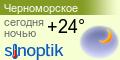 Погода Черноморское