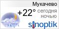 Погода в Мукачево на неделю