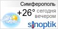 Прогноз погоды в Симферополе