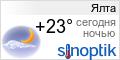 Погода в Ялте на неделю