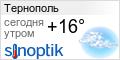 Погода в Тернополе