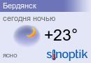 Погода в Бердянске на неделю