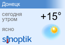 Погода Донецк