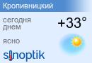 Прогноз погоды в Кировограде