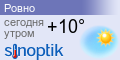 Прогноз погоды в Ровно