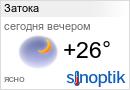 Погода в Затоке на неделю