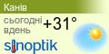 Погода Канів