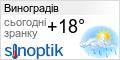 Погода у Виноградові на тиждень