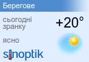 Погода Берегове