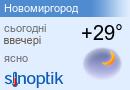 Погода у Новомиргороді