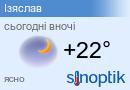 Прогноз погоди в Ізяславі