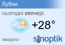 Погода Лубни