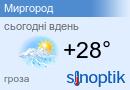 Погода у Миргороді