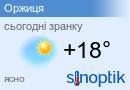 Погода в Оржицях