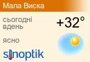 Погода у Малій Висці