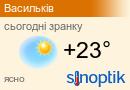 Погода у Василькові на тиждень