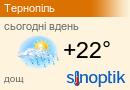 Погода у Тернополі