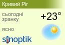 Погода у Кривому Розі на тиждень