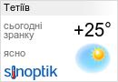 Погода Тетіїв