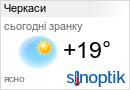 Погода Черкаси