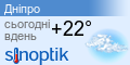 Погода Дніпропетровськ
